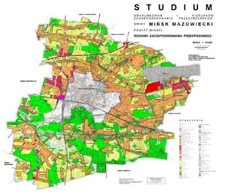 Zakup działki budowlanej w Mińsku Mazowieckim